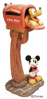 ミッキー&プルートのポスト